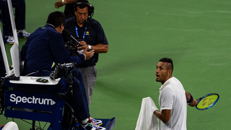 Nick Kyrgios is one of tennis' most outspoken critics
