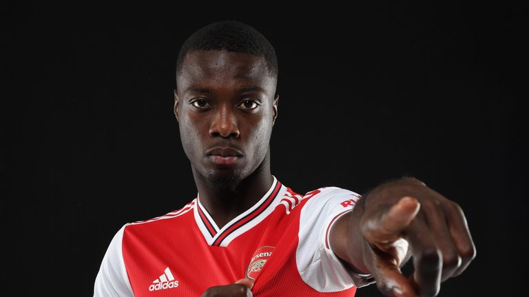Arsenal splashed the cash on Nicolas Pepe from Lille