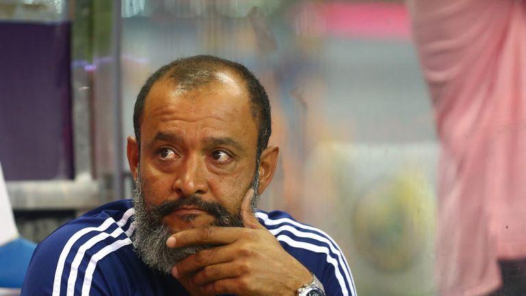 Nuno Espirito Santo Wolves pre-season