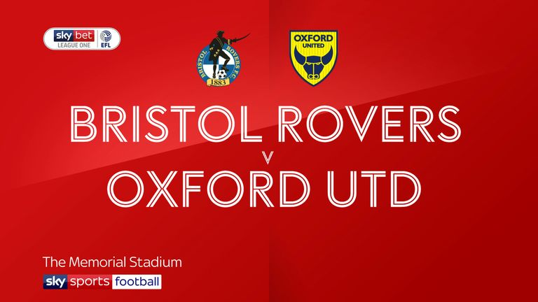 Bristol Rovers v Oxford United