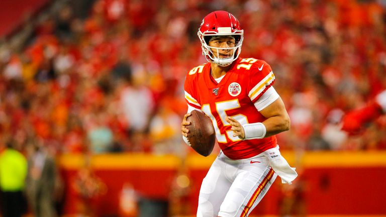 Kansas City Chiefs quarterback Patrick Mahomes was voted as the league's Most Valuable Player last season
