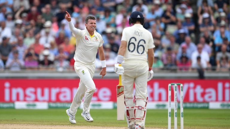 Peter Siddle was a surprise selection in the Australia side at Edgbaston