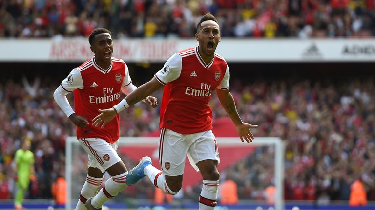 Highlights from Arsenal's 2-1 win against Burnley in the Premier League