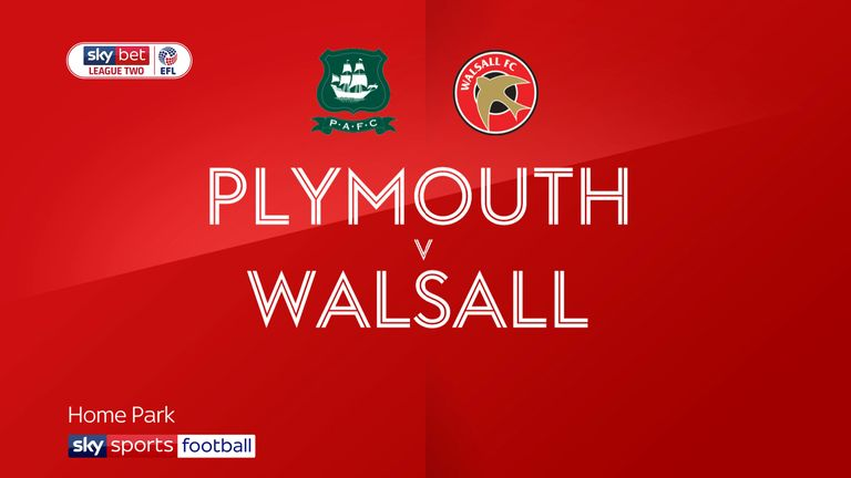 Plymouth v Walsall