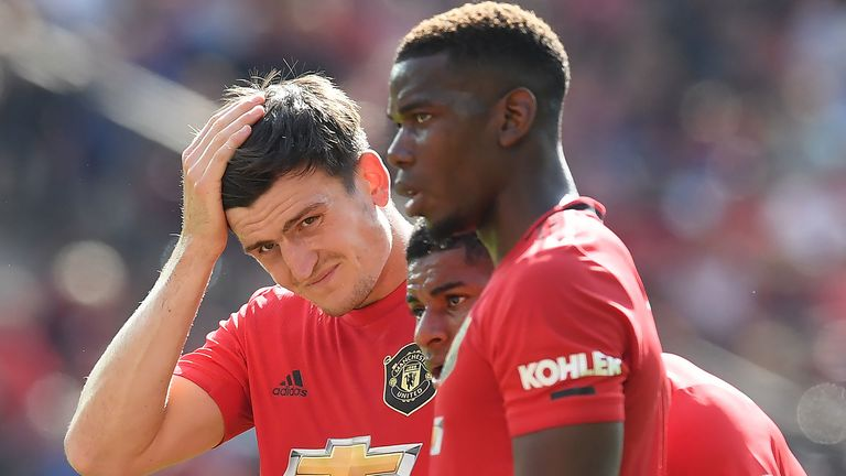 Paul Pogba, Harry Maguire and Marcus Rashford reflect after their defeat to Crystal Palace.