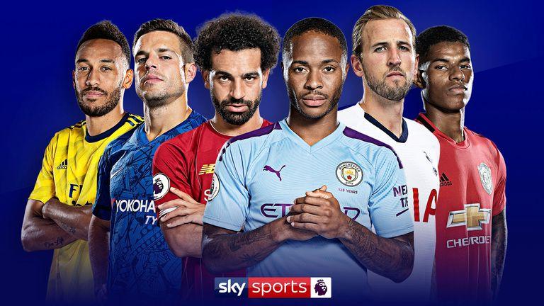 Premier League hero imagery
