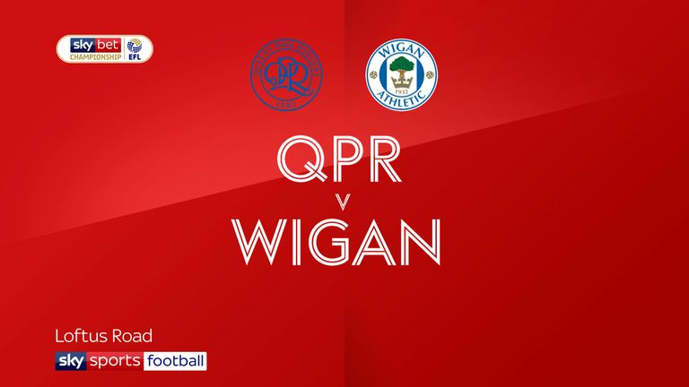 Highlights of the Sky Bet Championship match between QPR and Wigan.