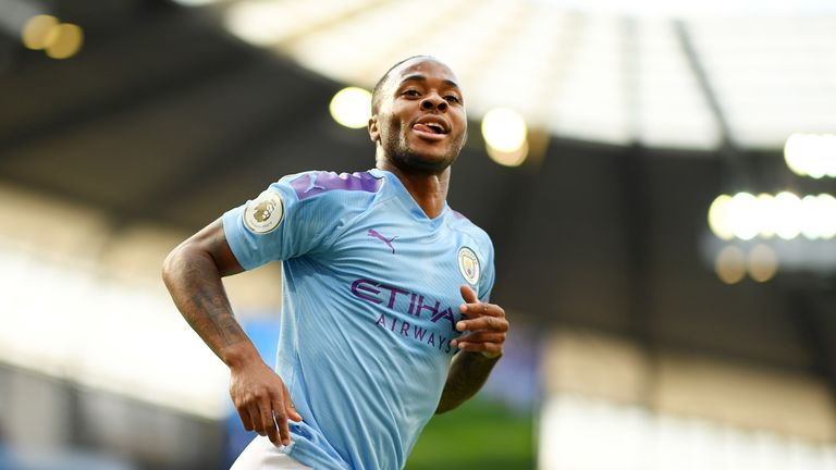 Raheem Sterling has scored five Premier League goals in five games for Manchester City this campaign as well as one in the Community Shield