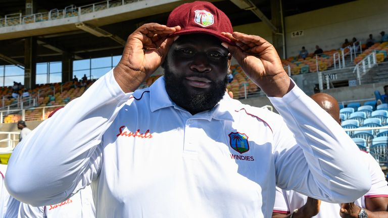 Rahkeem Cornwall made a big impact in West Indies' win over Afghanistan