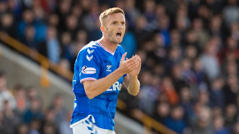 Andy King made his Rangers debut on Sunday