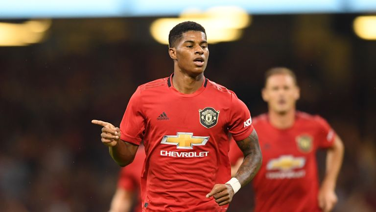 Marcus Rashford Exclusive Manchester United Are Back To Normal Football News Sky Sports