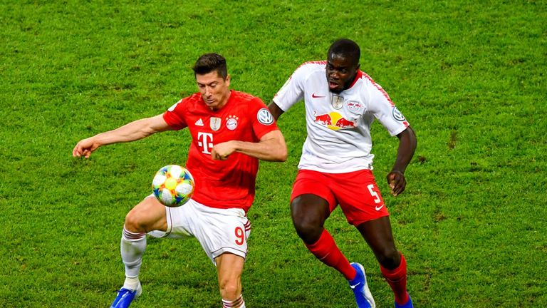 Arsenal are interested in RB Leipzig's Dayot Upamecano as a replacement for Koscielny