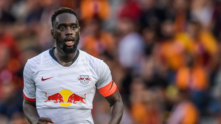 Jean-Kevin Augustin is on stand-by to fly to London for a potential move to Palace - Sky sources