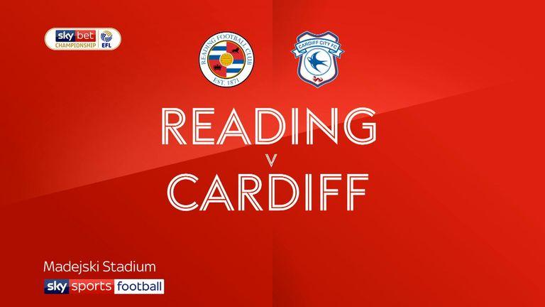 Reading v Cardiff