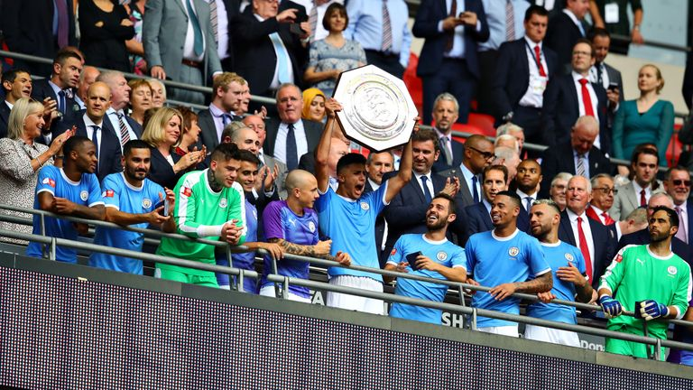 Rodri has already picked up his first silverware with Manchester City, lifting the Community Shield