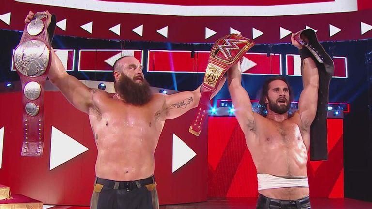 ROLLINS STROWMAN WWE