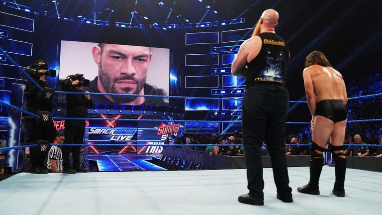 Roman Reigns now knows the identity of the man who has been sneak-attacking him for the past two weeks