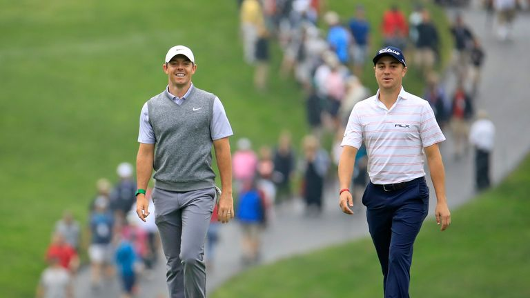 Rory McIlroy and Justin Thomas are both in contention to win the FedExCup