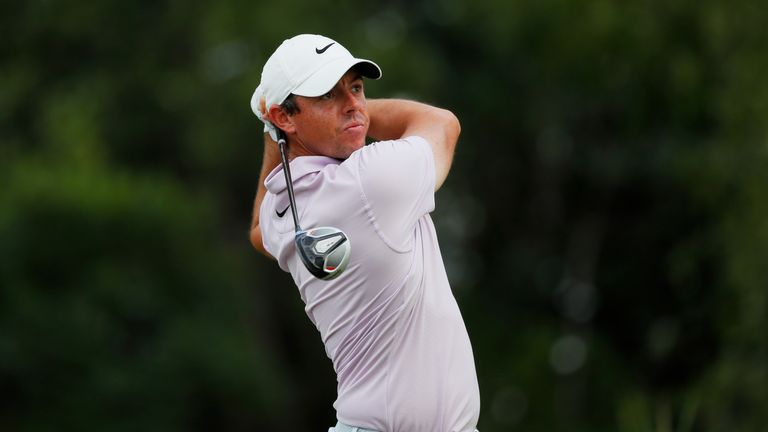 McIlroy eventually signed for a three-under 68 in the second round
