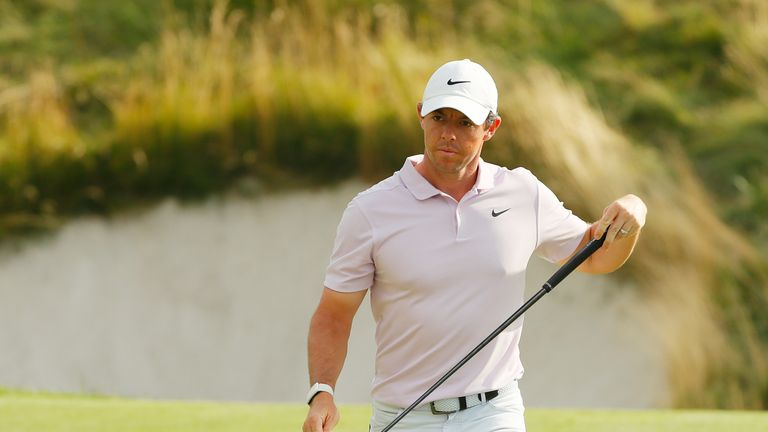 Rory McIlroy is only three off the lead at the halfway stage of The Northern Trust