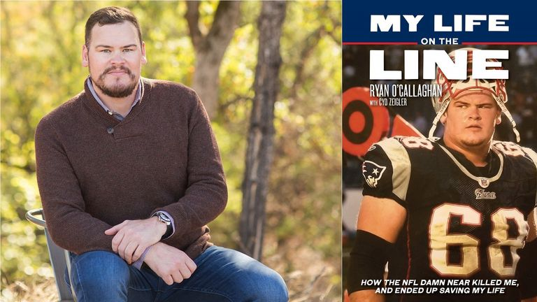 O'Callaghan shares the full story of his struggles as a closeted football player in 'My Life On The Line'