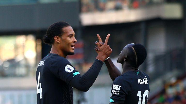 Virgil van Dijk and Sadio Mane were in fine form for Liverpool at Burnley