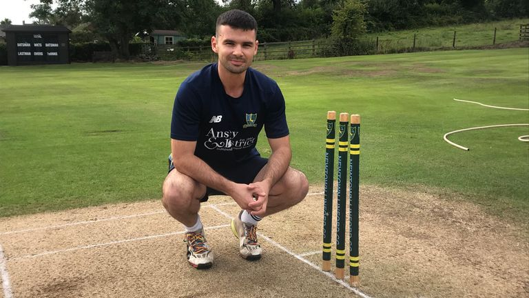 Cricket's support for the Rainbow Laces campaign 'means a lot' to Sam