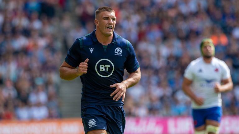Scotland lock Skinner ruled out of World Cup with hamstring injury