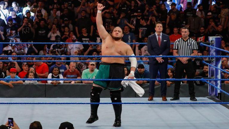 SAMOA JOE WWE
