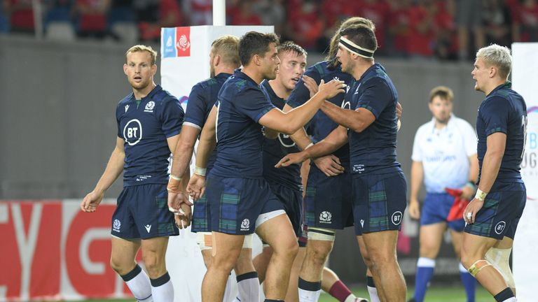 Scotland look to be improving game-by-game after tearing Georgia apart