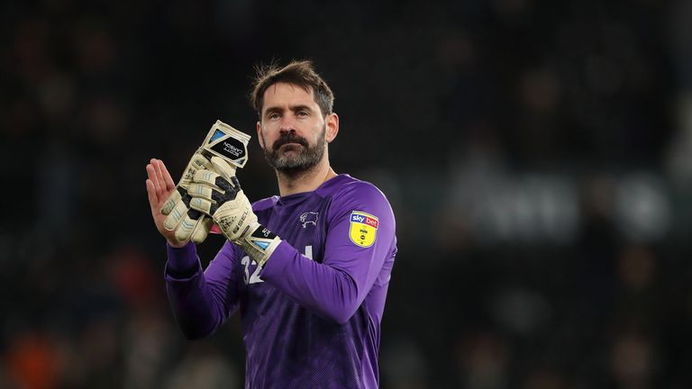Scott Carson will return to the Premier League with Manchester City