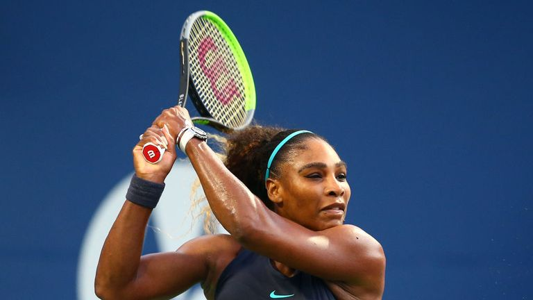 Serena Williams completed her match in an hour and 15 minutes