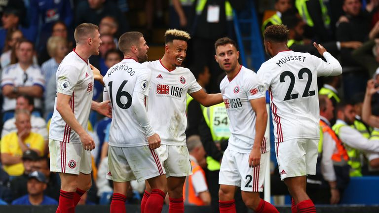 Sheffield United have one win from their opening five games of the Premier League season