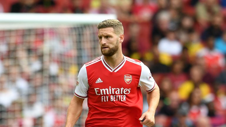 Shkodran Mustafi moved to Arsenal from Valencia in the summer of 2016