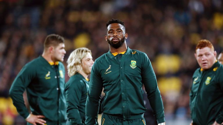 Siya Kolisi has led by example as South Africa bid to win their first World Cup in 12 years