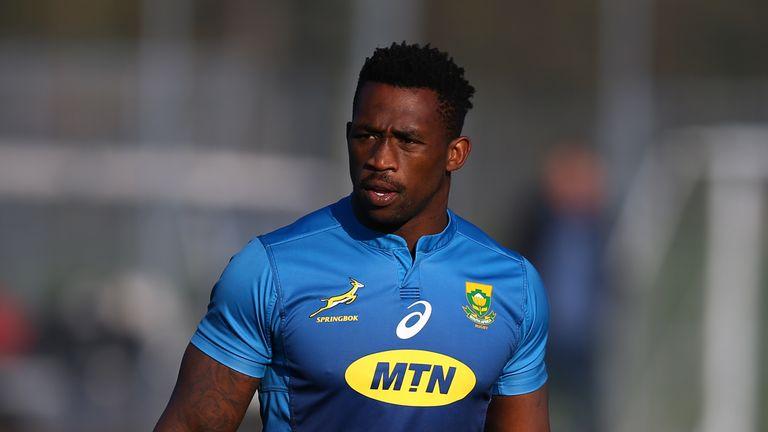 Siya Kolisi last played for the Springboks against Wales in November