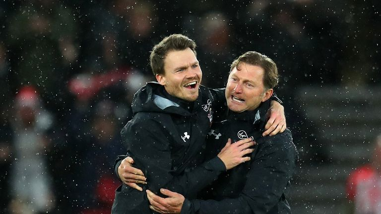 Danny Rohl (left) is leaving Southampton to join Bayern Munich