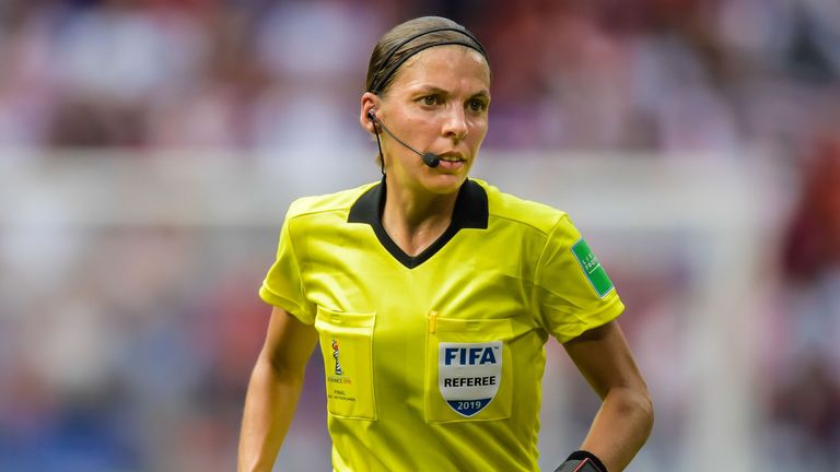 Stéphanie Frappart will be the first female referee to take charge of a major UEFA match