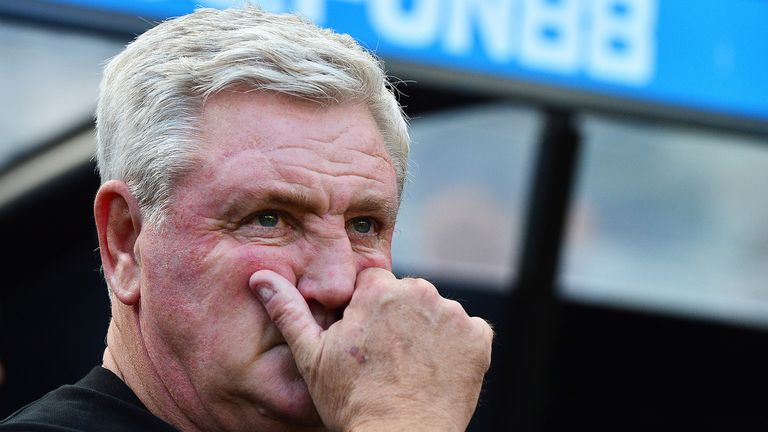 Steve Bruce's side have won just once in seven Premier League games