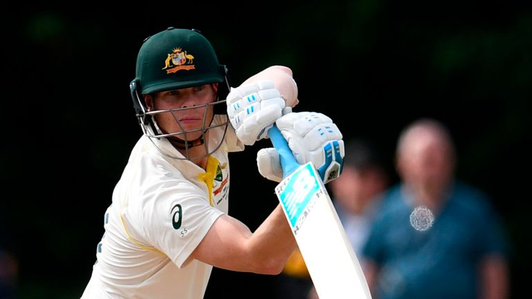 Ashes 2019: Steve Smith out for 23 on Australia on day two