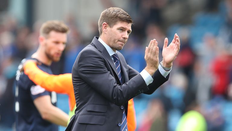 Steven Gerrard will take his Rangers side to Portugal, Switzerland and the Netherlands