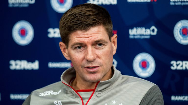 Steven Gerrard insists Rangers are not scared of facing Legia Warsaw in Europa League