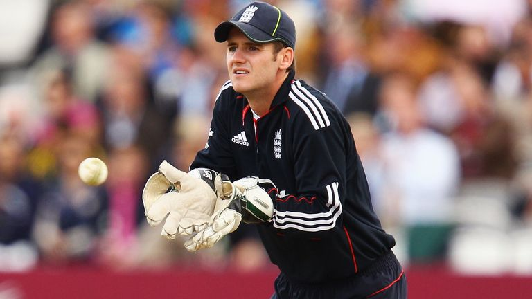 Steven Davies, now with Somerset, was the understudy to England wicketkeeper Matt Prior from 2009 to 2011