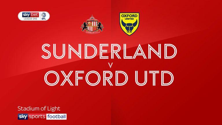 Sunderland vs Oxford