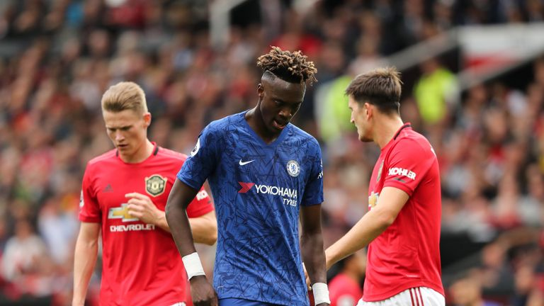 Tammy Abraham was a post's width away from marking his start with a goal
