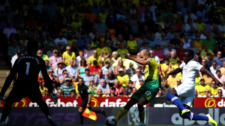 Teemu Pukki found the net once more against Chelsea