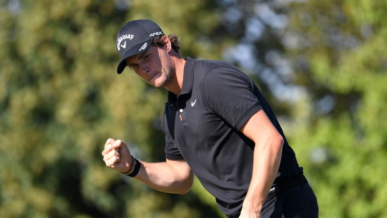 Czech Masters: Thomas Pieters holds on for first win in three years