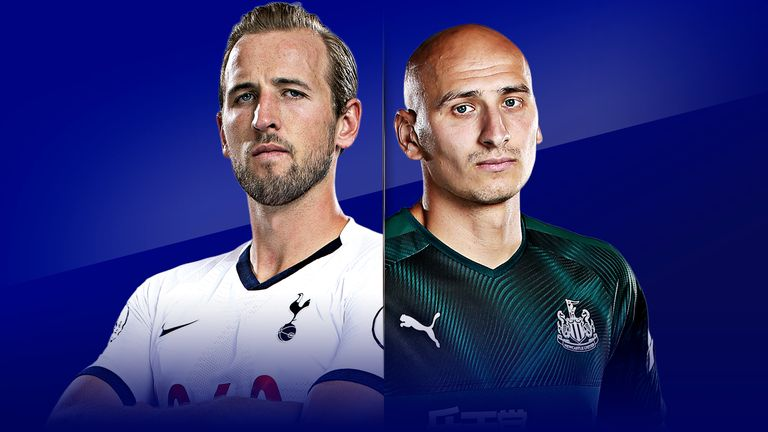 Tottenham vs Newcastle is live on Super Sunday