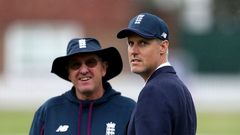 Trevor Bayliss insists he has been happy with England's selections during the Ashes