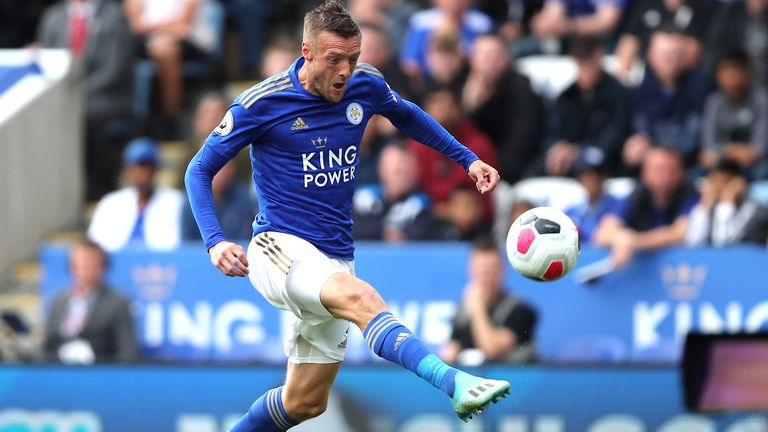Vardy scored Leicester's opener against Bournemouth a few weeks ago